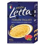Вироби макаронні Pasta Letta вермішель 450г