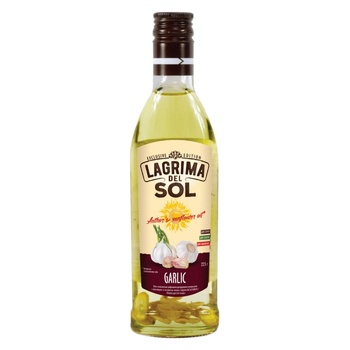 Lagrima del Sol with garlic sunflower oil 225ml - buy, prices for Auchan - photo 1