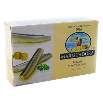 Сарган Mariscadora в оливковом масле ж/б 125мл