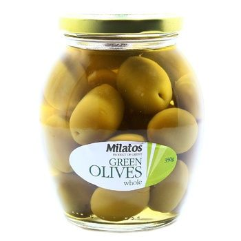 Milatos Green Olives with Bones 350g - buy, prices for Novus - image 2