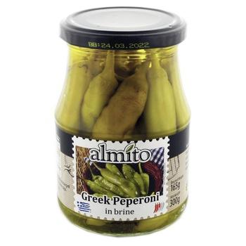 Almito In Brine Greek Peperoni 320ml - buy, prices for Novus - image 1