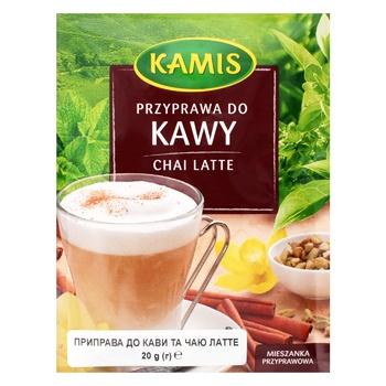 Приправа Kamis к кофе и чаю латте 20г - купить, цены на Novus - фото 1