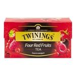 Чай чорний Twinings of London зi смаком чотирьох червоних фруктiв 25шт 2г