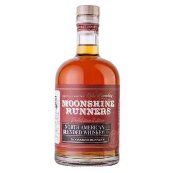 Виски Moonshine Runners Blended American 40% 0,7л