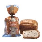 Хлеб Румянец с леном нарезной 350г