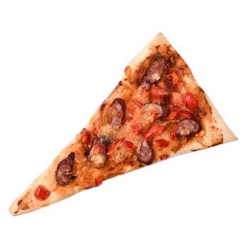 Мини-пицца с охотничьими колбасками 130г - купить, цены на Novus - фото 1