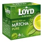 Чай зеленый Loyd Матча 20шт 1,5г