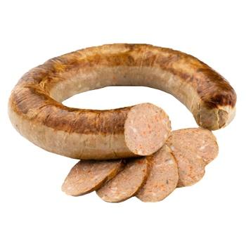 Колбаса жаренная с печенью в/с - купить, цены на Novus - фото 1