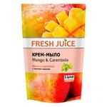 Крем-мыло Fresh Juice Mango & Carambola дой-пак 460мл
