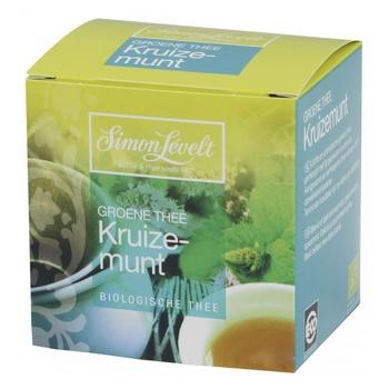 Чай зеленый Simon Levelt Mint органический 10пак*1,5г