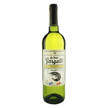 Вино Gargotte Chardonnay Pays d'Oc белое сухое 13% 0,75л