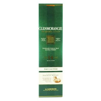 Glenmoranjie The Quinta Ruban Highland Single Malt Scotch Whisky 12 years 46% 0.7l - buy, prices for Furshet - image 1