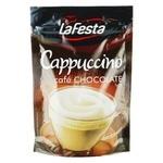 Напій Ла Феста Капучіно з шоколадним смаком розчинний 100г