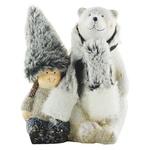 Koopman Bear with Baby Decorative Figurine 11,5х8х15cm