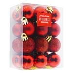 Набор шаров Koopman красные 3см*24шт