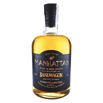 Бурбон Bandwagon Manhattan 35% 0.7л