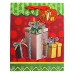 Пакет паперовий Happycom різдвяний XGBMB 18х22см - купити, ціни на Фуршет - фото 1