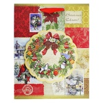 Пакет паперовий Happycom різдвяний XGBMB 18х22см - купити, ціни на Фуршет - фото 4
