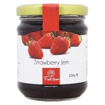 Fruit Farm Strawberry Jam 230g