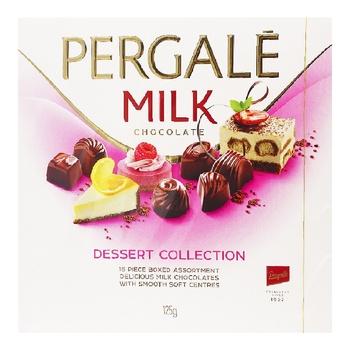 Конфеты Pergale Dessert Collection с молочным шоколадом 125г