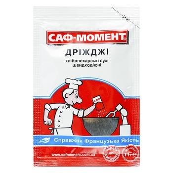 Дрожжи Саф-Момент сухие хлебопекарские 11г