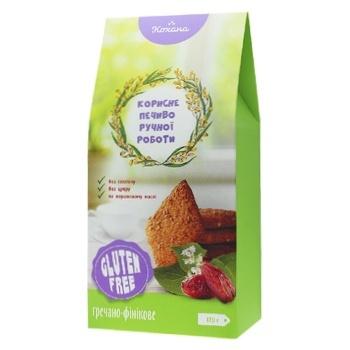 Kohana Gluten-Free Buckwhet-Date Cookies 170g - buy, prices for Furshet - image 1