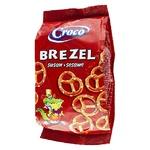 Брецелі Croco солоні з кунжутом 80г