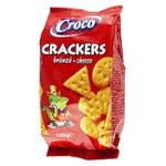 Крекер Croco зі смаком сиру 100г