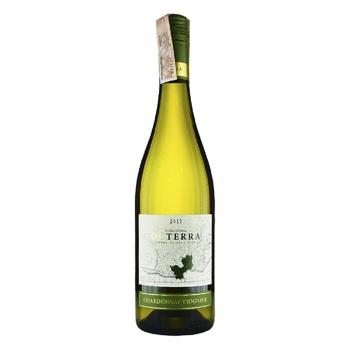 Вино Octerra Chardonnay-Viognier Pays D'OC белое полусухое 13% 0,75л - купить, цены на Novus - фото 1