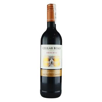 Вино Cellar Road Reserve Cabernet Sauvignon красное сухое 14% 0,75л