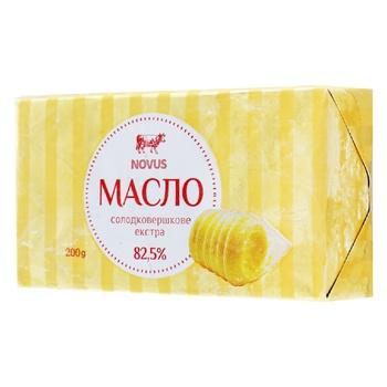 Novus Extra Sweet Cream Butter 82,5% 200g