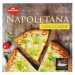 Пицца Mantinga Napoletana Три сыра быстрозамороженная 305г