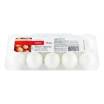 Яйца куриные Marka Promo С1 10шт