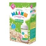 Суміш на молочно-зерновій основі Малиш суха з вівсяним борошном для дітей з 4 місяців 350г