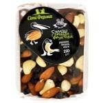 Смесь орехово-фруктовая Сіті Ферма изюм, миндаль, кешью 250г