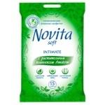 Novita Wet Wipes for Intimate Hygiene 15pcs