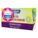 Масло LatteR сладкосливочное безлактозное 82.5% 200г