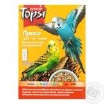 Просо витаминизированный корм Topsi для волнистых попугаев 600г