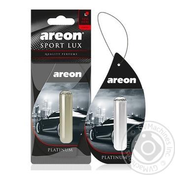 Освежитель воздуха Areon Sport LUX Platinum 5мл