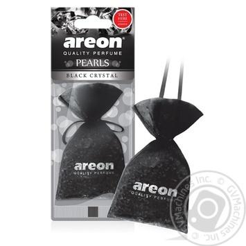 Освежитель воздуха Areon Pearls черный кристалл