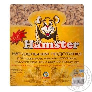 Hamster Standard Super Granules Litter 2kg - buy, prices for Auchan - photo 1