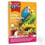 Корм Topsi Супер коктейль для попугаев 600г