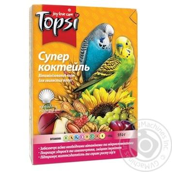 Корм Topsi для папуг Супер коктейль 600г