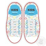 Шнурки AntiLaces Kids силиконовые белые 38мм 12шт