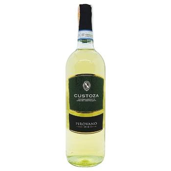 Вино Pirovano Bianco di Custoza DOC белое сухое 12% 0,75л