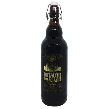 Пиво Butautu dvaro alos sokolado темне 6% 1л