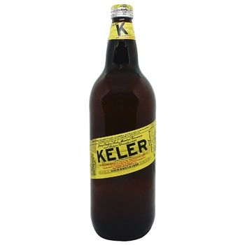 Пиво Keler Lager светлое 6,2% 1л