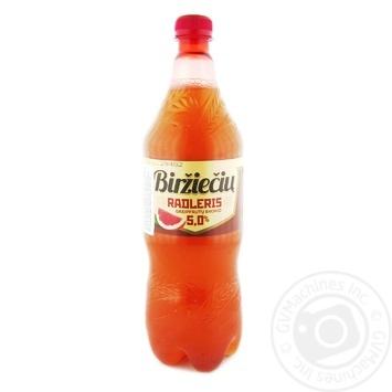 Напій пивний Rinkuskiai Radler Ggrapefruit слабоалкогольний 5% 0,5л - купити, ціни на Novus - фото 1