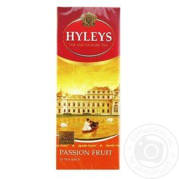Чай Хейлиз черный плод страсти 1,5г х 25шт