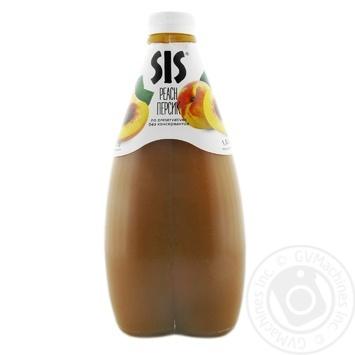 Нектар SIS персиковий 1,6л - купити, ціни на МегаМаркет - фото 1